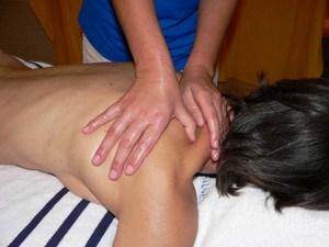 Neck & Shoulder Aromatherapy massage