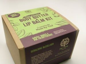 BODY BUTTER AND LIP BALM KIT