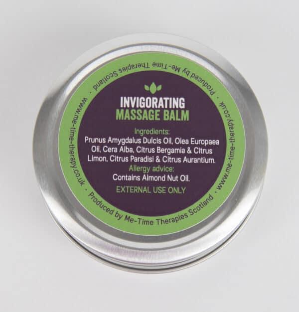 natural massage wax