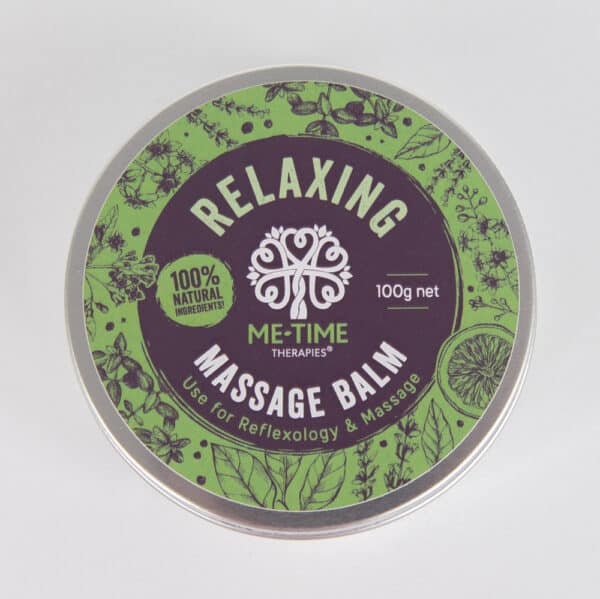 Relaxing massage wax