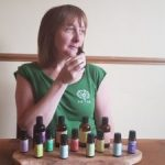 smelling Aromatherapy scents