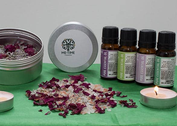 Wellbeing Retreat Day - aromatherapy oils