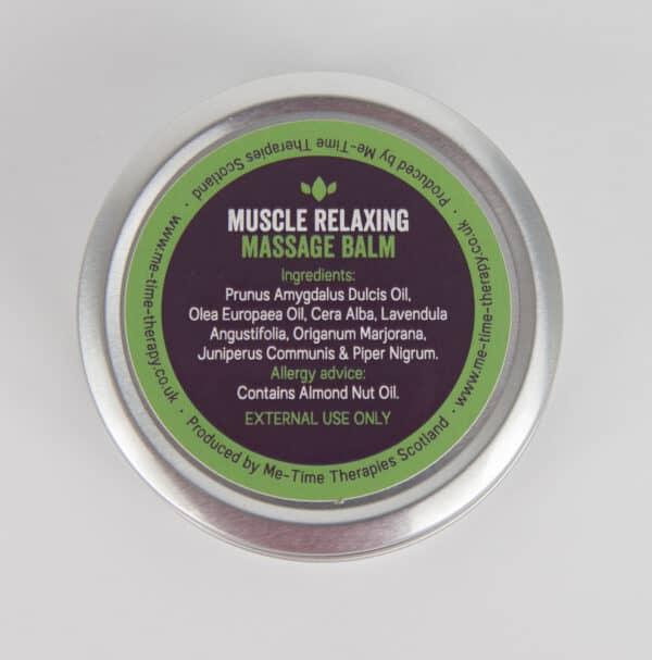 aromatherapy oils massage balm